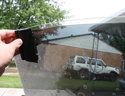 How To Get Bubbles Out Of Car Window Tint Solar Shield